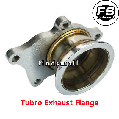$ CDN59.17 • Buy T3/T4 For Turbo 5 Bolt To 3  V-Band Flange Turbo Adaptor Stainless Steel Adapter