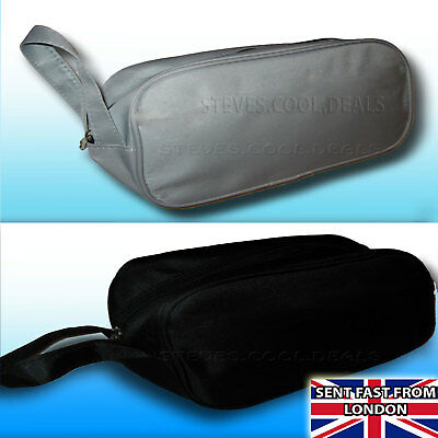 AU6.85 • Buy Men's Wash Bag Ideal For Travel Holding Toiletries Shaving Kit Soap Accessories