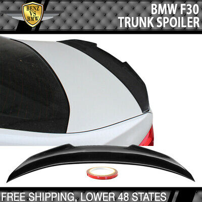 $164.99 • Buy Fits 12-19 BMW 3-Series F30 F80 PSM Style Trunk Spoiler Carbon Fiber