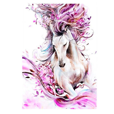 £4.99 • Buy 5D DIY Fairy Horse Diamond Painting Embroidery Cross Stitch Kit For Children