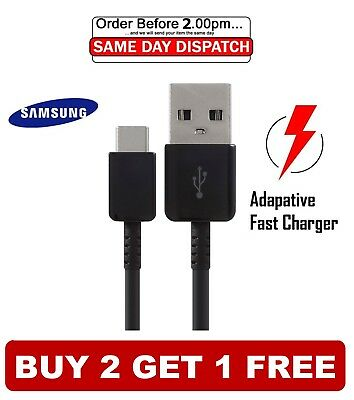 $ CDN4.27 • Buy Samsung Galaxy S9 / S9+ S8 S10 Plus Type C USB-C Sync Charger Charging Cable