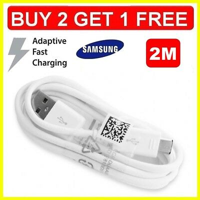 $ CDN5.10 • Buy Fast Charger 2M USB Data Sync & Cable Lead For Samsung Galaxy S5 S6 S7 & Edge