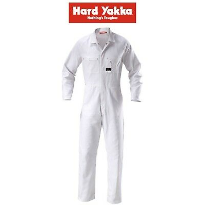 £56.17 • Buy Mens Hard Yakka Nickel Painting Coverall Cotton Drill Overall Work Tough Y00010