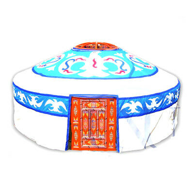 Mongolian Yurt, Canvas Cover With Birds Pattern • 1,644.12£