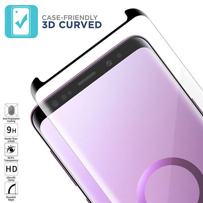 $ CDN3.28 • Buy 6D Full Cover Tempered Glass Screen Protector For Samsung Galaxy Note9 S8 S9Plus