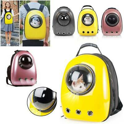 £15.99 • Buy Perfect Pet Carrier Backpack Capsule Travel Dog Cat Bag  Breathable Astronaut