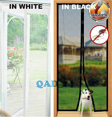 £7.99 • Buy MAGIC Magnetic Curtain Door Net Screen Insect Bug Mosquito Fly Insect Mesh Guard