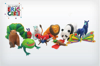 The World Of Eric Carle (The Hungry Caterpillar) Cake Toppers / 10 Figures • 11.99£