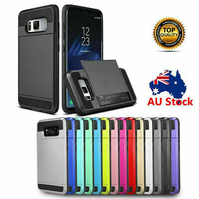 AU6.93 • Buy Samsung Galaxy S20 FE Ultra S10 5G SS9 + S8 Plus Case Shockproof Card Hold Cover