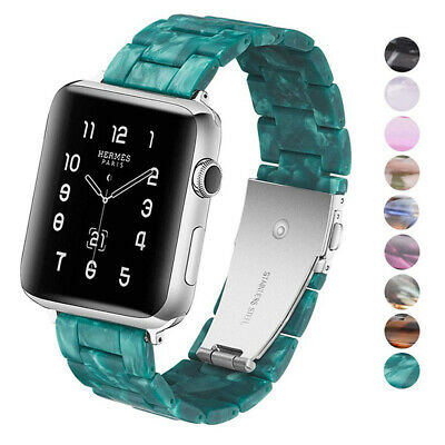$ CDN14.95 • Buy Resin Watch Band Bracelet Wrist Strap For Apple IWatch Series 4 3 2 1 38 40 44mm