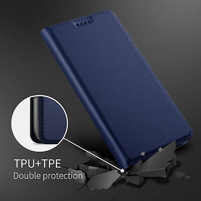 AU2.77 • Buy For OnePlus 5 5T 6 Luxury Business Slim Leather Case Flip Magnetic Wallet Cover