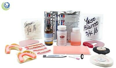 Complete Denture Repair Kit With 28 Teeth Long Lasting - No Instructions • 89.99$