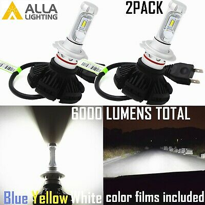 Alla Lighting H7 Super Bright LED Hd-light,Cornering Light Bulb,White,Short VS • 35.76£