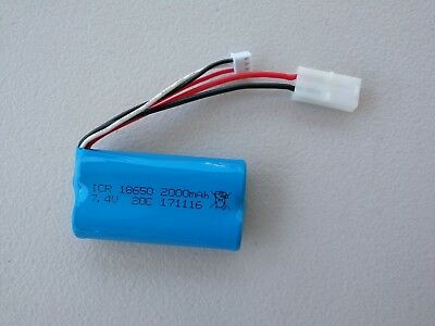 AU28 • Buy Au Store Heng Long Tanks 2000mAh 2S 7.4V Li-ion Battery For RC Tanks Car Boat