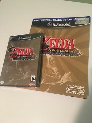 $300 • Buy Legend Of Zelda: The Wind Waker Nintendo GameCube Sealed With Strategy Guide