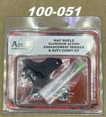 $151.95 • Buy * Apex Tactical For S&W M&P Shield Duty/Carry Action Enhancement Trigger & Kit