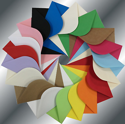 £2.30 • Buy C5 (162x229mm 6.5x9 ) Coloured Envelopes Crafts Greeting Cards Party Invitations