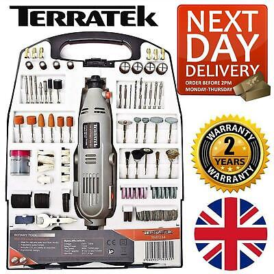 234pc Rotary Multi Tool Set Dremel Compatible Accessories Mini Drill Hobby • 26.95£