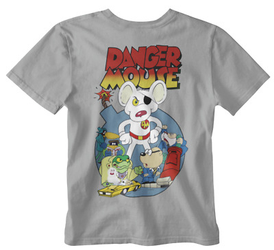 £7.99 • Buy D Mouse T-shirt Cartoon 80s 90s Classic Penfold Spy Tv Series Hes The Greatest G