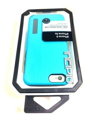AU17.97 • Buy Incipio DualPro Protective Case/Cover For Apple IPhone 6 IPhone 6S In BLUE/GRAY