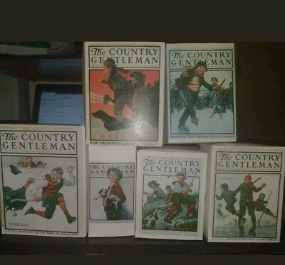 $ CDN98.17 • Buy LOT OF 6 - Norman Rockwell The Country Gentleman Figurines  Complete Collection