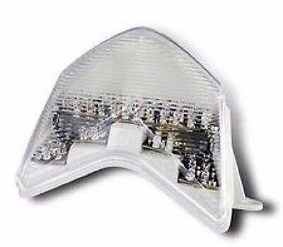 $92 • Buy Rumble LED Integrated Tail Light Kit 2005-06 Kawasaki ZX636 Ninja ZX-6R / Clear