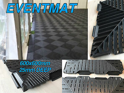 £25 • Buy Event Marquee Flooring Eco Mat Path Grass Protection & Temporary Floor Grid Path