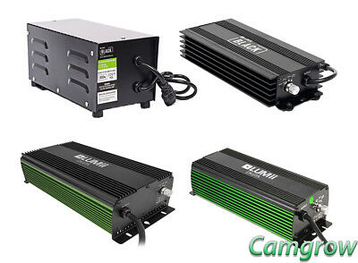 Lumii Black Ballasts - Magnetic & Digital Dimmable - Digita 600W & 1000W Hps   • 159.99£