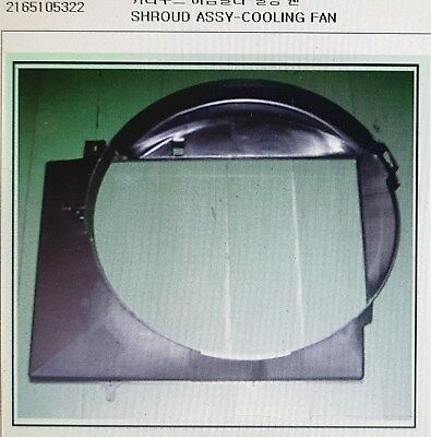 AU133.34 • Buy Genuine Coolong Fan Shroud Assy For SSANGYONG MUSSO, MUSSO SPORTS #2165105322