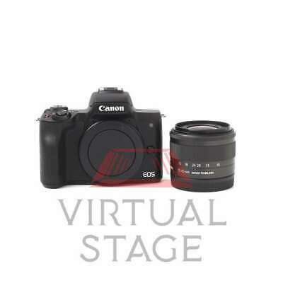 View Details UK Canon EOS M50 Mirrorless Digital Camera With 15-45mm Lens (Black) • 459.00£