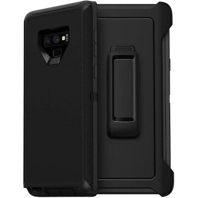 $ CDN15.81 • Buy For Samsung Galaxy Note 9 Case Cover Shockproof Series Fits Defender Belt Clip