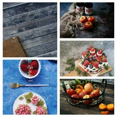 Dual Double Side Backdrop Paper Food Grain Product Photography Prop Background • 6.67£