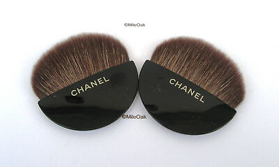 £6.99 • Buy Chanel 2 Make Up Brushes ( Fan Shaped)  - New