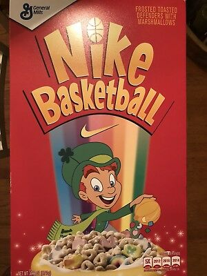 a5bca8aae5c7 Nike Kyrie Irving 4 Cereal Pack Lucky Charms (Special Cereal Box Package)  10 DS