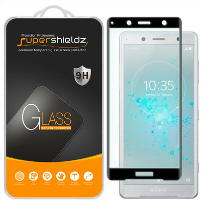 AU15.96 • Buy 2X Full Cover Tempered Glass Screen Protector For Sony Xperia XZ2 Premium