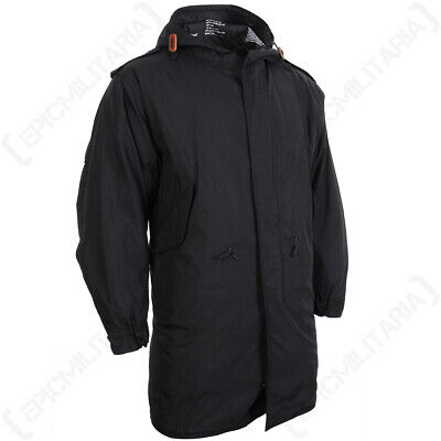 $142.12 • Buy Black US M51 Parka With Liner - Winter Cold Weather Coat Removable Fishtail New
