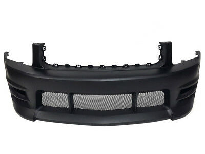 $299.99 • Buy Ford Mustang 05-09 V6 Boy Racer Style Front Bumper W/ Lower Mesh Grilles