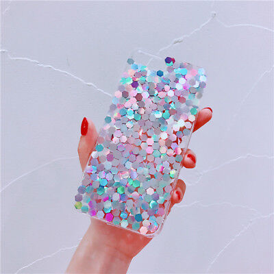 AU8.95 • Buy Korean Bling Case Girls Gradient Colorful Cover For IPhone 12 11 Pro XS Max 7 8+
