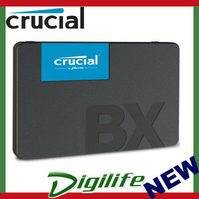AU66.89 • Buy Crucial BX500 240GB 2.5  SATA SSD 3D NAND 540/500MB/s 7mm Acronis True Image