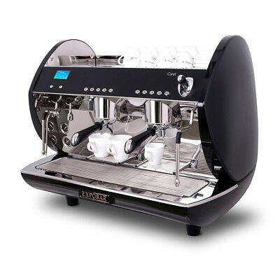£3199 • Buy Expobar Carat Eco 2 Group Coffee Machine 2 Group Barista Commercial