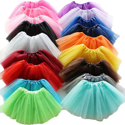 High Quality 3 LAYERS Tutu Skirt Women Lady Girls Fancy Dress Skirts Hen Party  • 2.99£