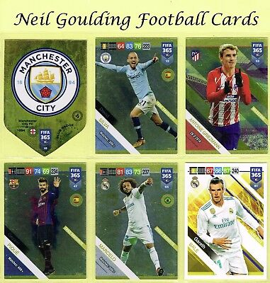 £0.99 • Buy Panini FIFA 365 2019 ☆ TEAM MATE / FANS ☆ Football Cards #10 To #81