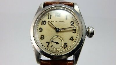 $ CDN4610.23 • Buy Rolex Rare Vintage 1937 Stainless Steel Oyster Manual Wind Watch 2280