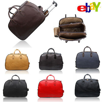 Cabin Travel Bag Wheeled Lightweight Suitcase Hand Luggage Trolley Case Holdall • 19.99£