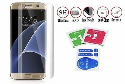$ CDN7.30 • Buy Full Cover Tempered Glass Screen Protector For Samsung Galaxy S7edge S8/plus S9