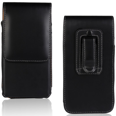AU8.99 • Buy For Huawei Y6 2018 Luxury Universal Vertical Belt Clip Leather Pouch Case