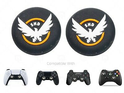 £3.49 • Buy 2x PS5 Division PS4 Thumb Grips Caps SHD Covers Switch Pro/Xbox 360/PS3