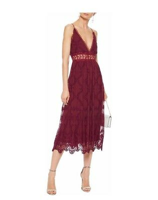 Zimmermann Lace-trimmed Broderie Anglaise Silk-chiffon Midi Dress 2 • 425$