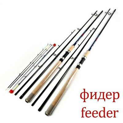 3 Sections High Carbon Super Power Lure Weight 40 To 120g Feeder Fishing Rods • 86.25£