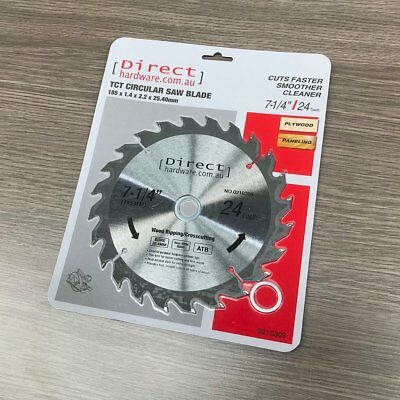 AU11.90 • Buy 185mm - 24T Teeth - TCT Circular Saw Blades Wood Suit Milwaukee Irwin 7-1/4